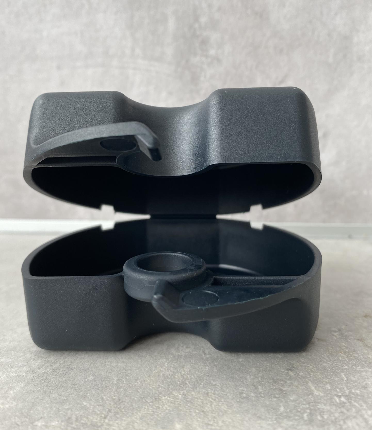 Zahnspangen-Box Schwarz