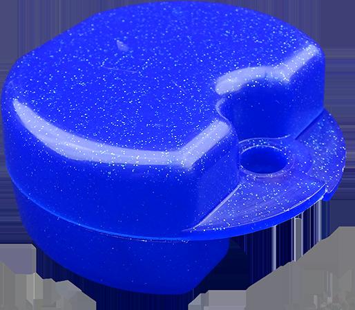 Zahnspangen-Box blau