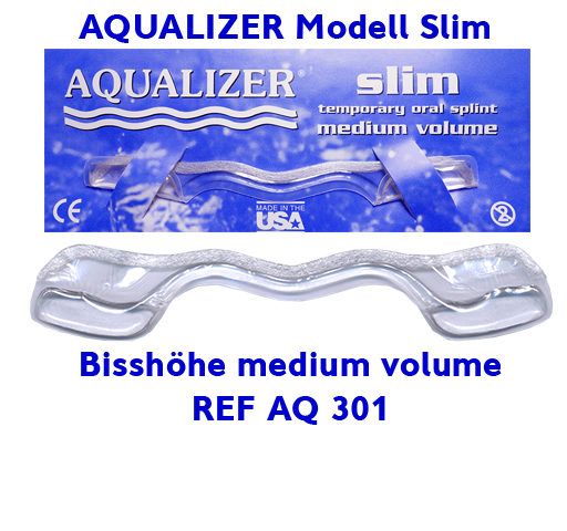 AQUALIZER AQ 301 Slim Medium