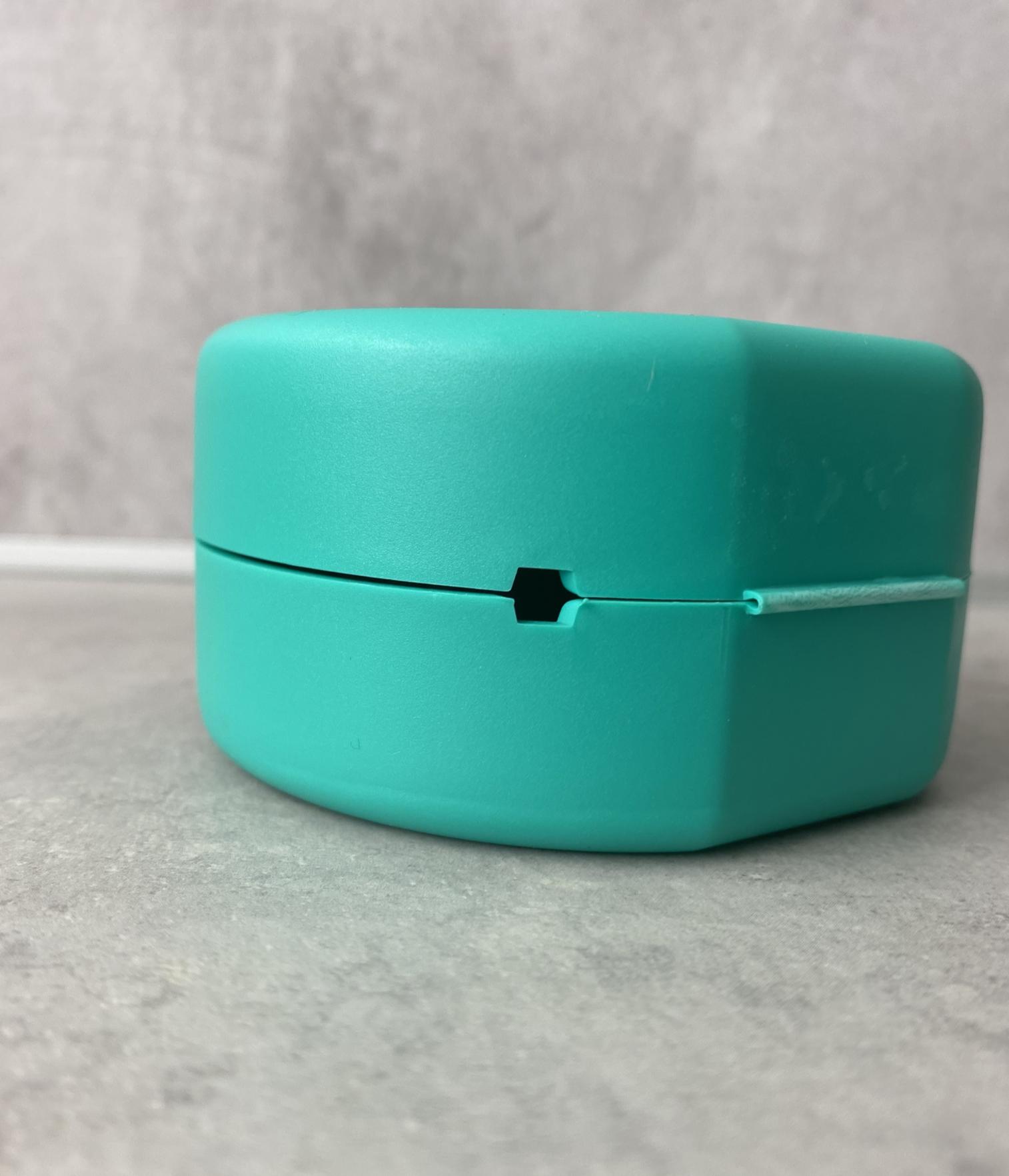 Zahnspangen-Box Grün