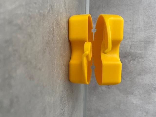 Zahnspangen-Box Gelb