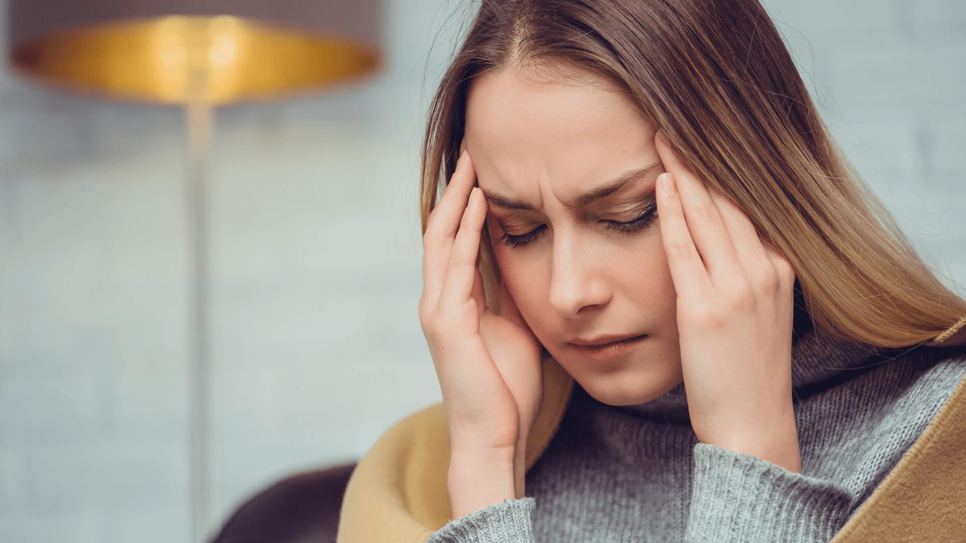 Spannungskopfschmerzen als CMD Symptom
